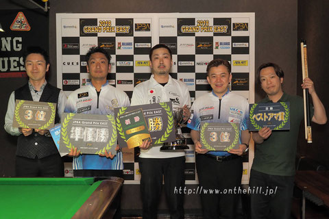Naoyuki Oi won JPBA 2018 Grand prix east stop#1 in Saitama.