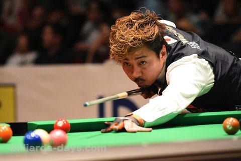 Naoyuki Oi  ※写真は2019 Japan Open