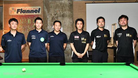 2020年7月に行われたエキシビションチームマッチ第1弾、東京HOTS vs 横浜Black Arrows(現在の横浜HAPPY'sの前身)。中央右が土方隼斗プロ