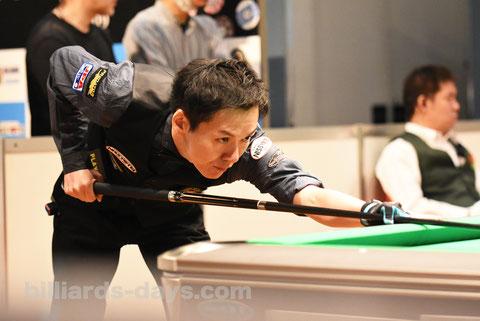 Masato Yoshioka ※写真は2019 Japan Open