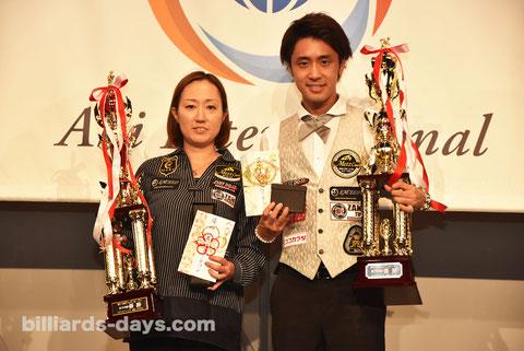 Miyuki Kuribayashi & Hayato Hijikata won 2016 Japan Open