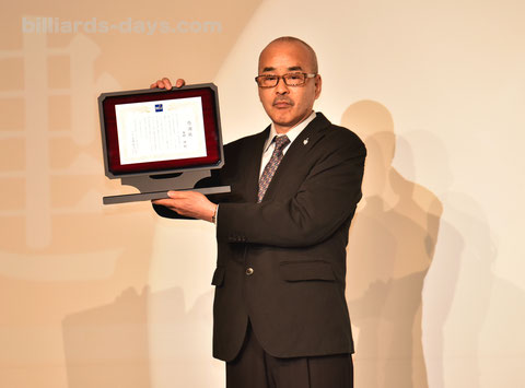 Takeshi Okumura (1994 9-ball World Champion)  has been inducted into Japanese Billiards Hall of Fame 2018.