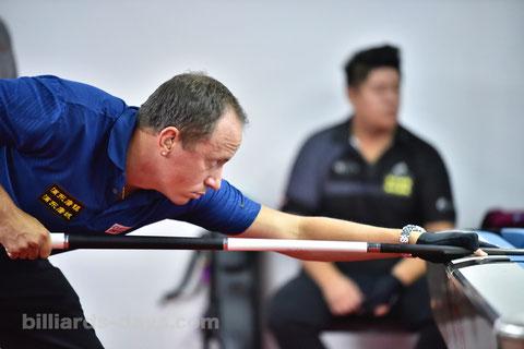 アメリカのエース、S・バンボーニング ※写真は2018 China Open