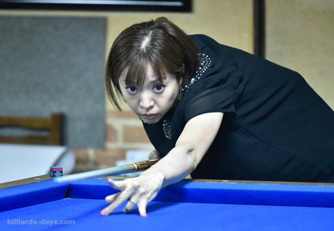 Ayako Sakai ※写真は全日本女子3C選手権にて
