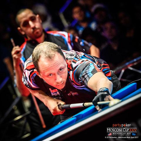 Shane Van Boening ©JP Parmentier - Matchroom Multi Sport 2017