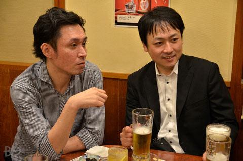 Hiroyuki Murayama (right)