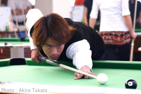 Mitsuaki Itsuno 2005年中国オープン Photo :  Akira Takata