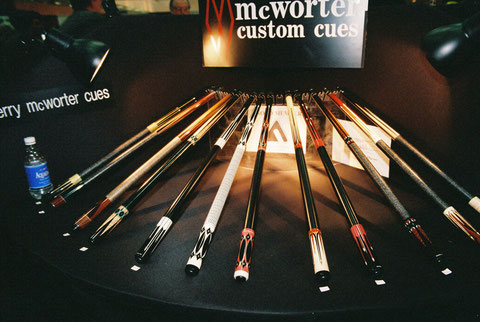 1999年。マクウォーターブースもサムサラと同種のディスプレイだった。他にもいくつかのメーカーがこのような展示をしていた