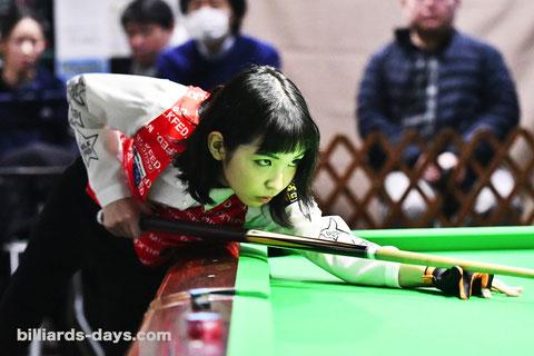 優勝した2020年1月の『関東レディースオープン』にて
