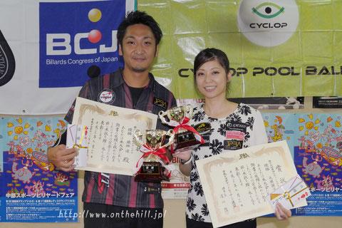 Toru Kuribayashi & Reiko Motohiro won Tokai Grand Prix 2017