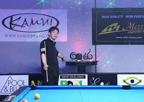 10ボールで3位入賞の田中裕也