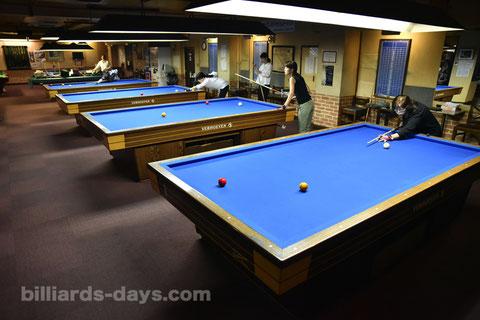 Held at Billiards Club KOBAYASHI in Tokyo.