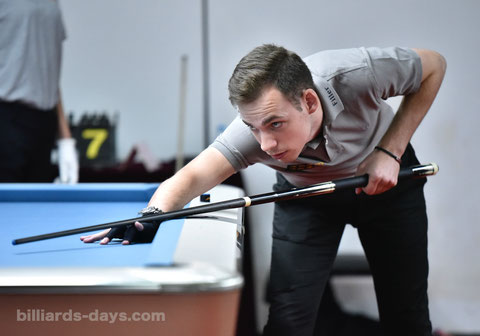 Joshua Filler won 2018 9-ball World Championship ※写真は2018 China Openにて