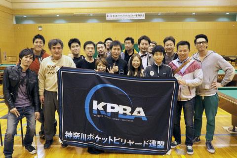 小川徳郎(中央)&Team神奈川!