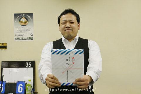 球聖東日本代表:江藤大昇(東京)