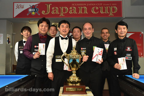 Dani Sanchez won 30th Japan Cup in Tokyo. 4th times.