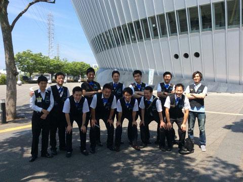 神奈川チーム at 和歌山ビッグホエール