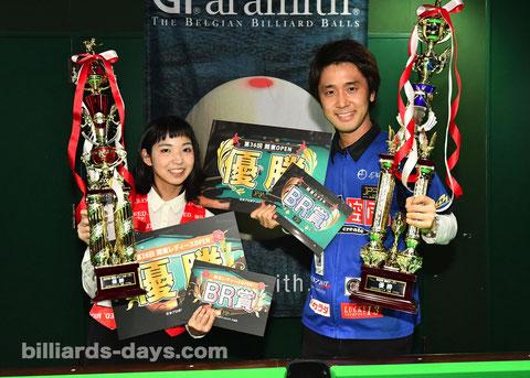 Yuki Hiraguchi & Hayato Hijikata. 2020 Kanto Open Champions.