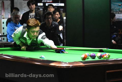 Lo Li wen won 2017 All Japan 14-1 (straight pool) Championship