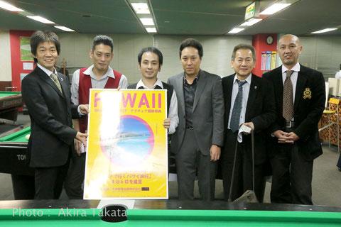 左:川端聡プロ 右3:未来教育出版阿部力氏