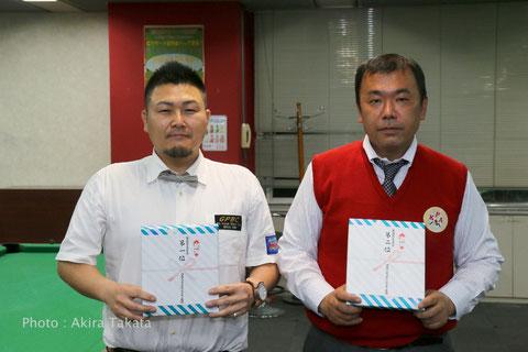 西日本代表になった木村選手(左)と増田選手