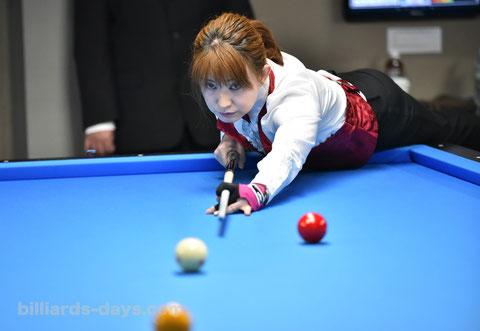 Namiko Hayashi ※写真は2019 全日本女子3C選手権