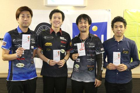 Hiroshi Takenaka (r2) won 2017 JPBA Grand Prix West stop#3