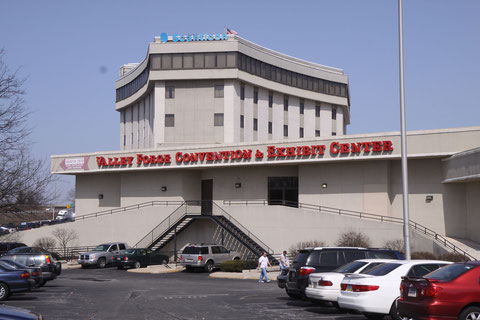 1994年から2011年まで「聖地」となっていた『バレーフォージュ・コンベンションセンター』。現在はカジノに改装されてしまった