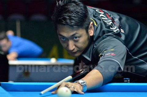 Toru Kuribayashi 2015 World Pool Championship