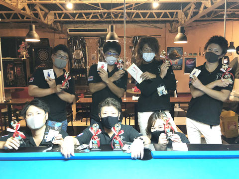 We love billiard in Kyoto