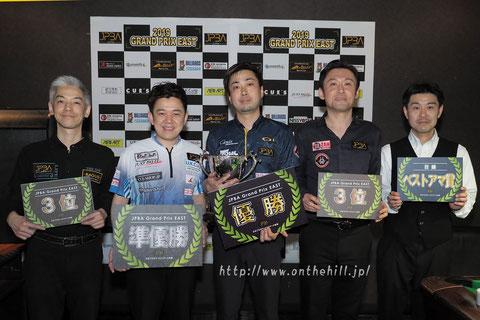 Naoyuki Oi won 2019 Grand Prix East stop#1 in Saitama.