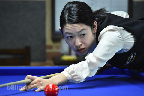 Orie Hida won 2016 All Japan Ladies 3-Cushion in Tokyo