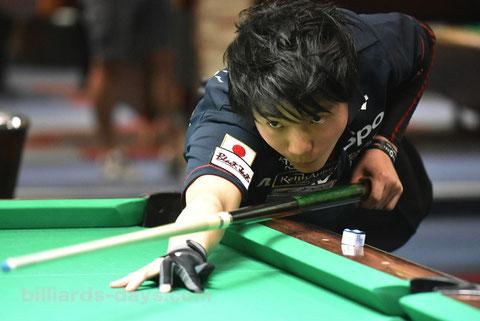 Kouki Sugiyama ※写真は2017年『アジアジュニア選手権』にて