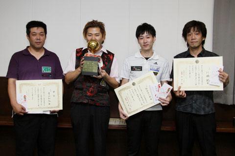 2011年『全日本オープンローテーション選手権』3位入賞時
