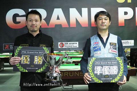 Yukio Akagariyama won JPBA Grand Prix East 2020 Billiards ROSA Round (non-ranking).