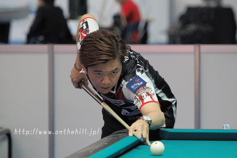 Lo Li-wen won 2016 Asian 9-ball Championship Photo Courtesy of On the hill !