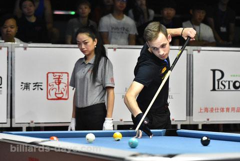 Joshua Filler ※写真は2018 China Open