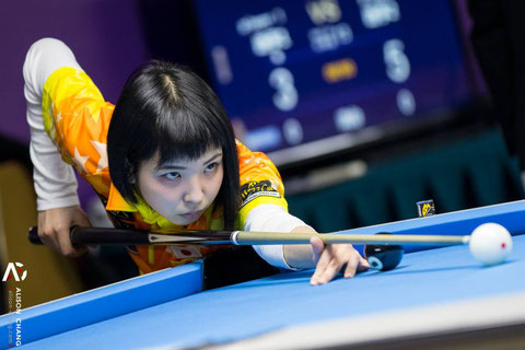 Yuki Hiraguchi from Japan 平口結貴 ©Alison Chang, Taiwanese Passion for Pool 2016