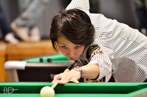 河原千尋(Chihiro Kawahara) ※本戦(ステージ2)シード ※写真は国内大会でのものです(以下同)