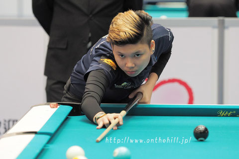 Chezka Centeno won 2016 Asian Junior 9-ball Championship Girls Div.