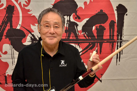 Kenji Nagaya with Adam Japan Shaft SB EX.