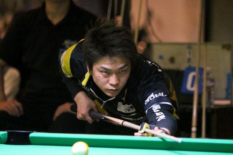 Shosuke Hamada won 2017 JPBA Grand Prix West stop#1 in Aichi