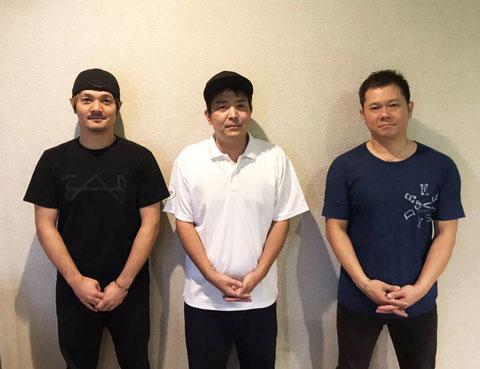 優勝のTigre×South×Roots(沖縄) 左から:浜田宗一郎、城間大雅、中石健康