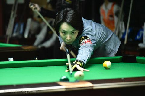 Chihiro Kawahara won 2018 JPBA Women's Pro Tour stop#3.