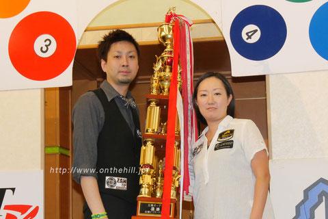 Naoyuki Oi won 2015 Hokuriku Open & Miyuki Kuribayashi won 2015 Hokuriku Ladies Open