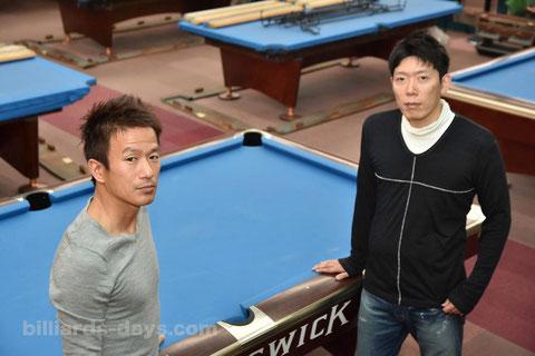 Mitsuaki Itsuno (left) & Daisaku Nishijima (right)