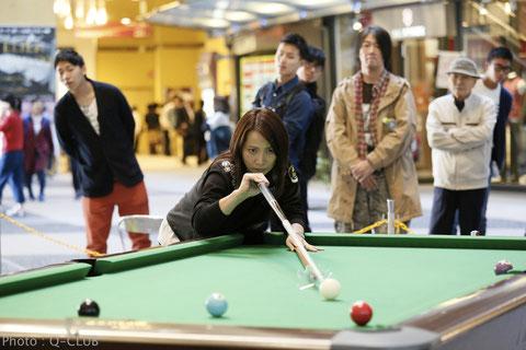 Junko Mitsuoka, Photo courtesy of Q-CLUB