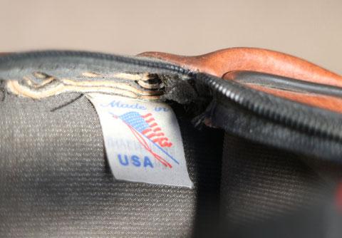 1988年製ケースのタグでは米国製を強調