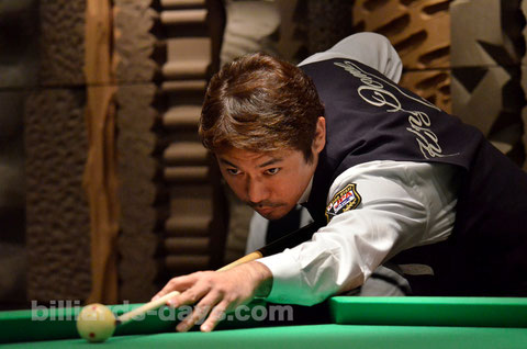 Kenichi Uchigaki talks about US OPEN 2015. 写真は2015北海道オープンにて