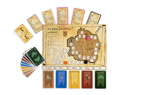 Ebbes - the slightly different trick-taking game!